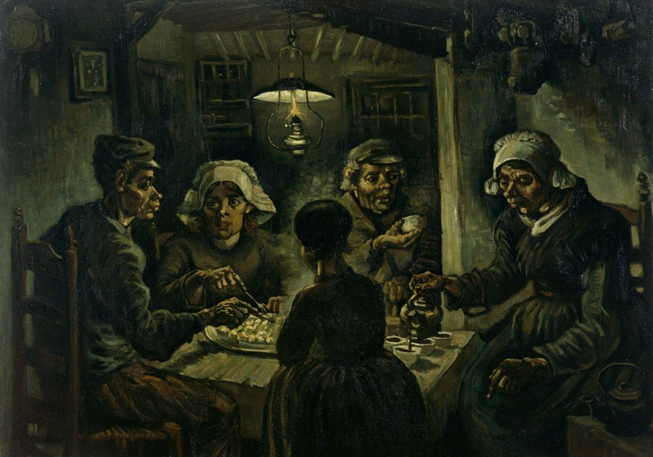 Mangiatori-di-patate-Vincent-Van-Gogh
